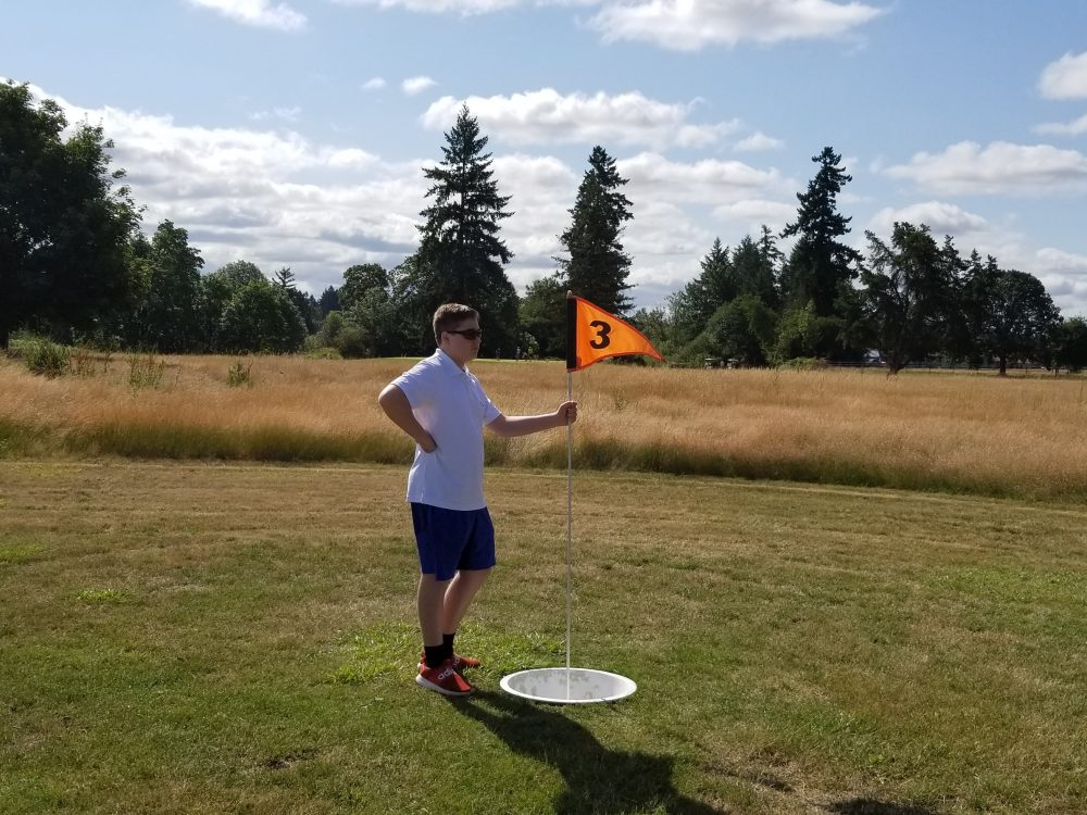 Meriwether has Foot Golf too!
